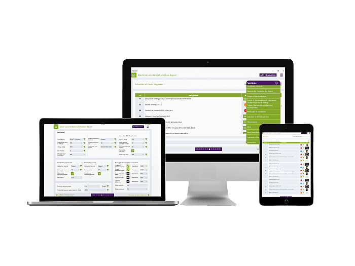 Electrical Certification Software